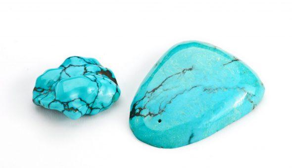 Поделочный камень бирюза